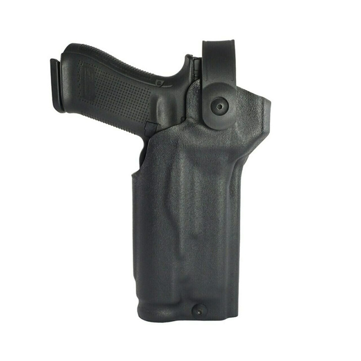 Model US-80 Mid-Ride Level 2 Duty Holster - Rail Mounted Light & RDS - SDR™ Coyote Brown