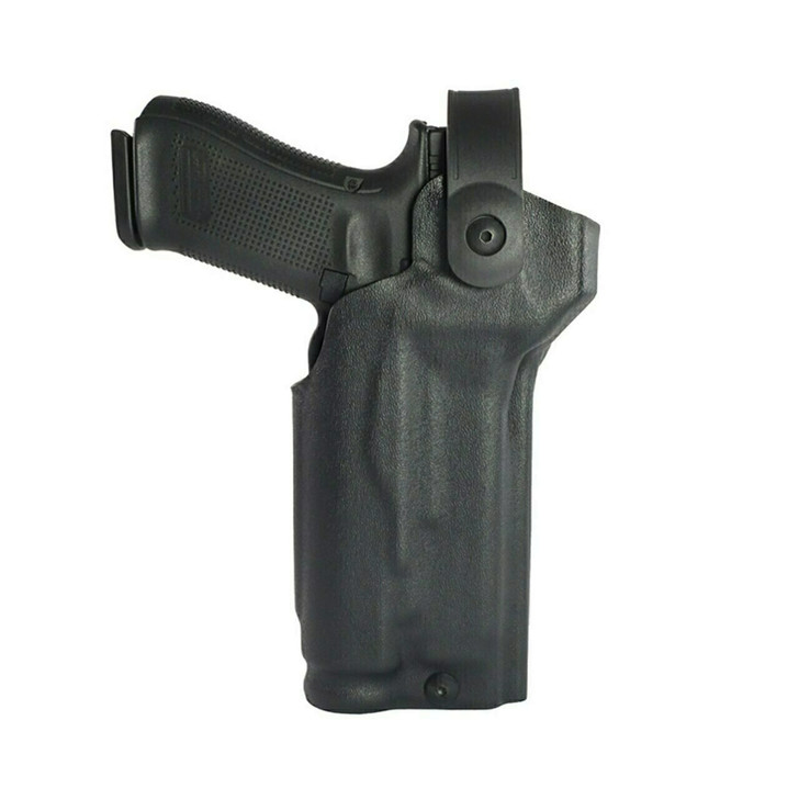 Model US-80 Drop Leg Platform Quick Release Level 2 Tactical Holster - Rail Mounted Light & RDS - SDR™ High Gloss Black