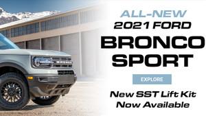 ALL-NEW 2021 BRONCO SPORT 1.5″ SST LIFT KIT