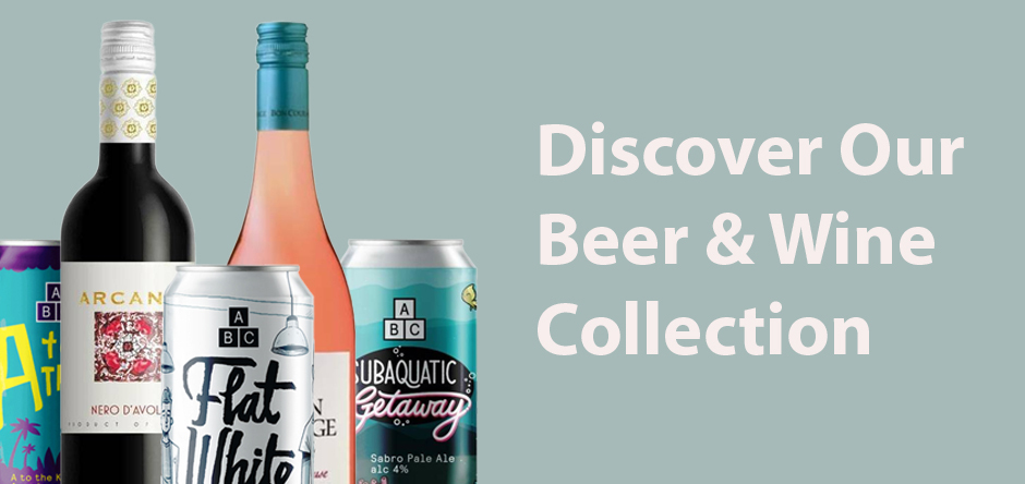 Discover our beer & wine collection