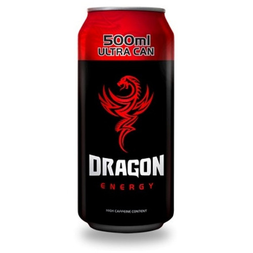Dragon Energy Can - Red 500ml x 12