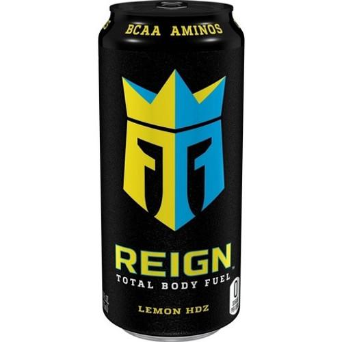 Reign Energy Lemon Hdz 500ml x 12 (zero sugar)
