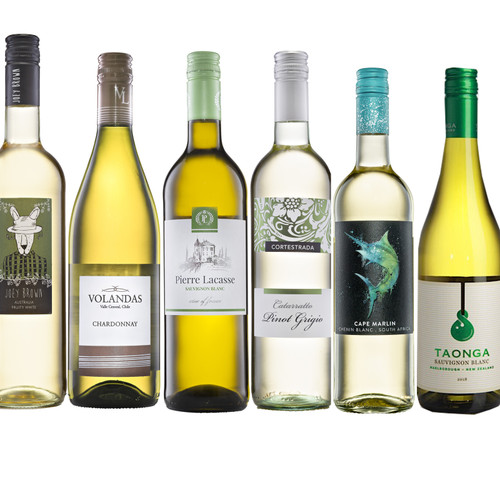 White Wine MIXED CASE - 6 x 75cl Bottles Various Countries & Styles