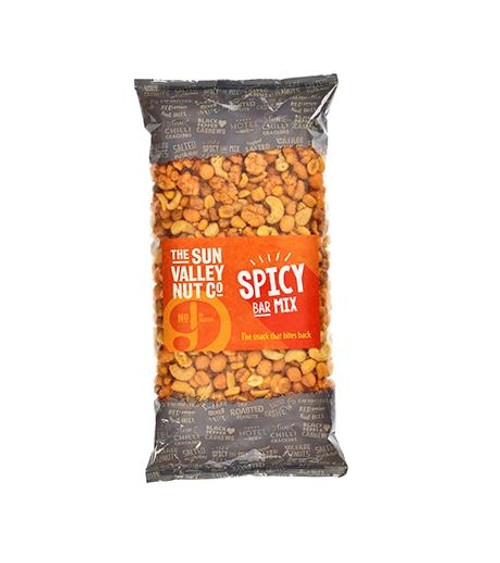 Sun Valley Weigh Out Peanuts - Spicy Bar Mix Peanuts & Rice Crackers 1 x 650g Bag
