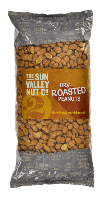 Sun Valley Weigh Out Peanuts - Dry Roasted Nuts 1kg Bag