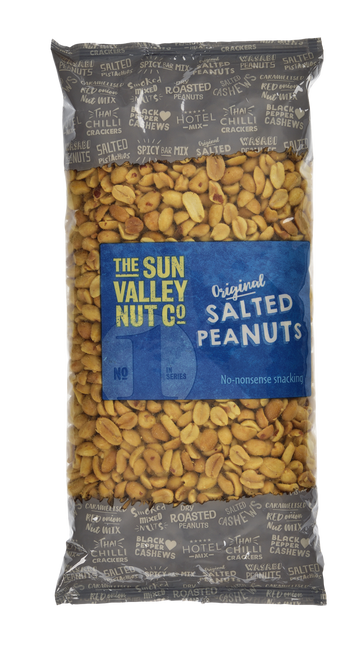Sun Valley Weigh Out Peanuts - Salted Nuts 1kg Bag