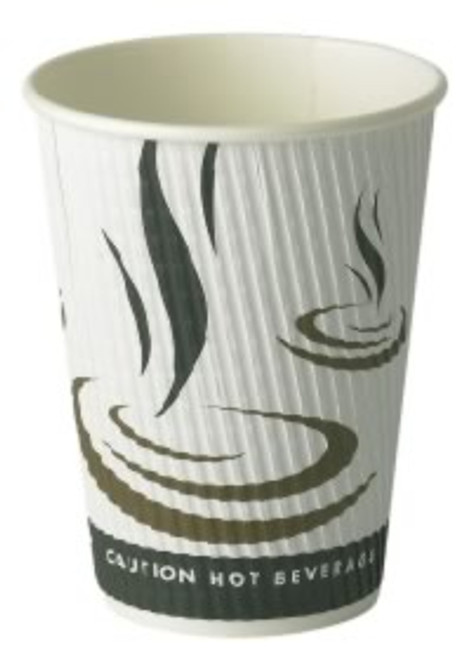 Paper Weave Ripple Cups 12oz x 500