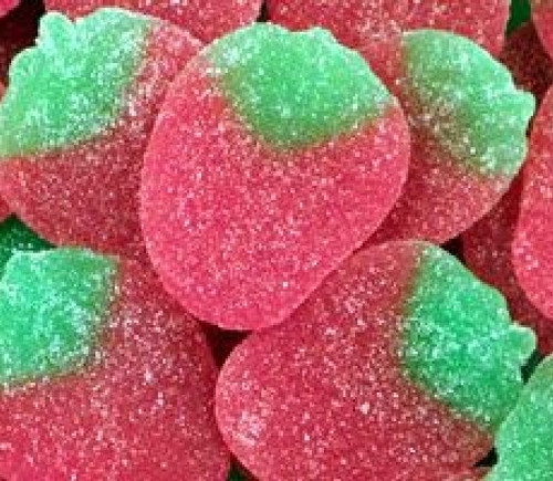 Confex Giant Sour Strawberries Weigh Out Bag 3kg