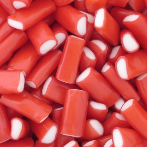 Confex Strawberry Mini Pencils Weigh Out Bag 3kg
