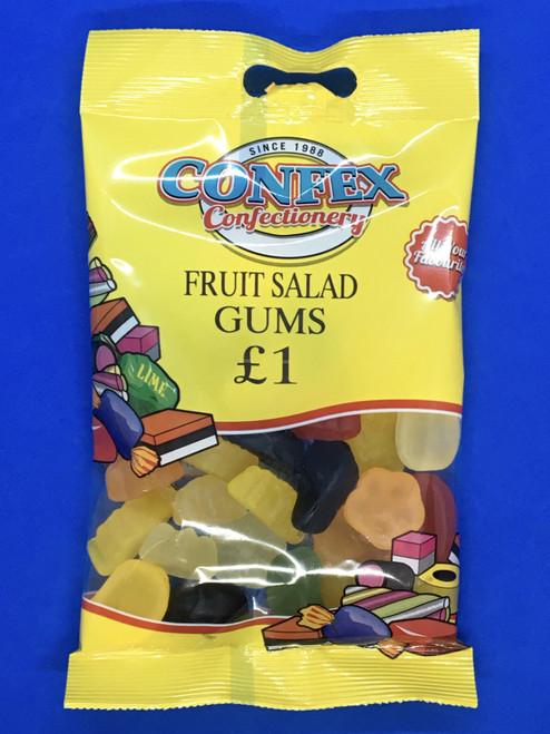 Confex Fruit Gums £1 Bags x 12