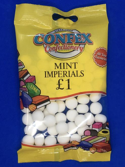 Confex Mint Imperials £1 Bags x 12
