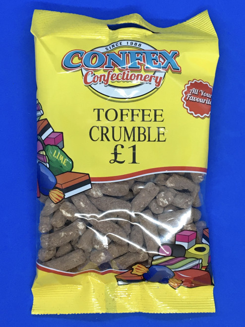 Confex Toffee Crumble £1 Bag x 12