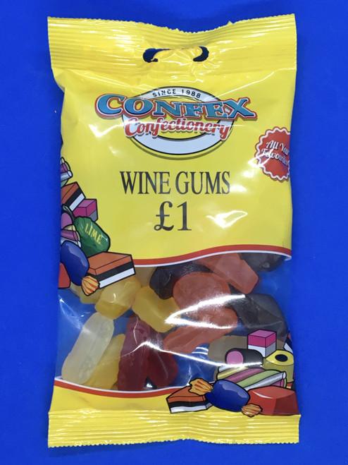 Confex Wine Gums £1 Bag x 12