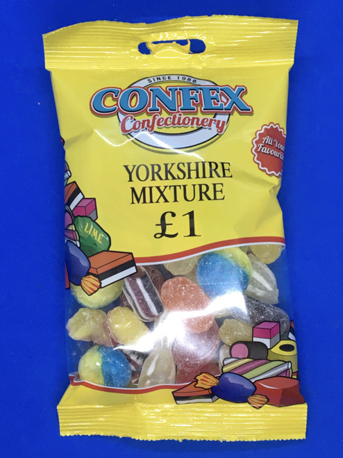 Confex Yorkshire Mix £1 Bag x 12