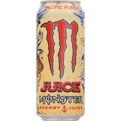 Monster Energy Pacific Punch (Price Marked) 500ml x 12