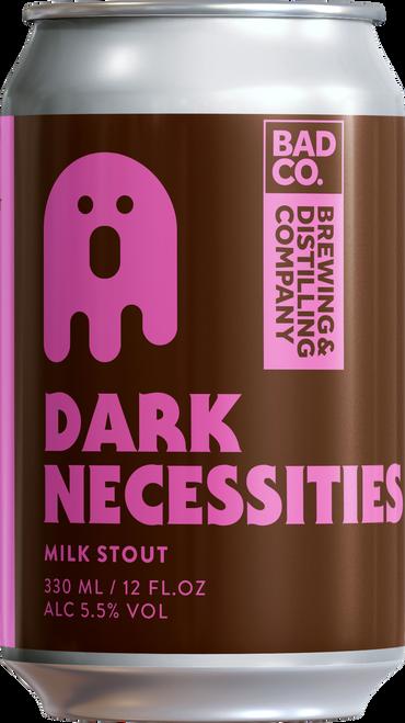 Bad Co. Dark Necessities 5.5% 330ml Beer Can