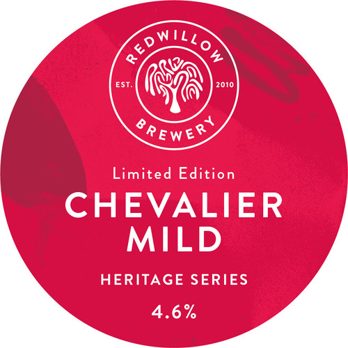 Red Willow Brewery Chevalier Heritage Mild Beer Can 6.6% 440ml