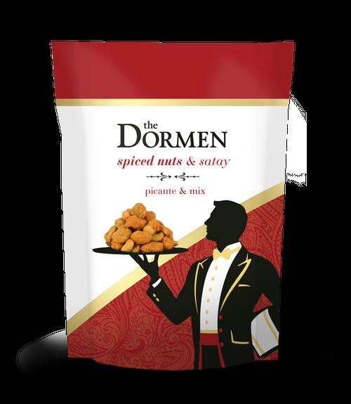 Dormen Spiced Nuts & Satay Broadbeans 24 x 50g