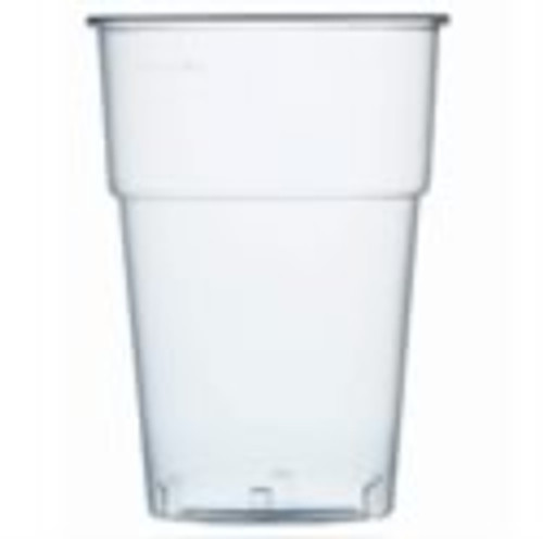 Plastic Reusable Half Pint Glasses 10oz x 100