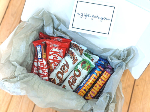 Nestle Favourites Gift Box & Message