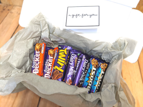 Cadbury Favourites Gift Box & Message