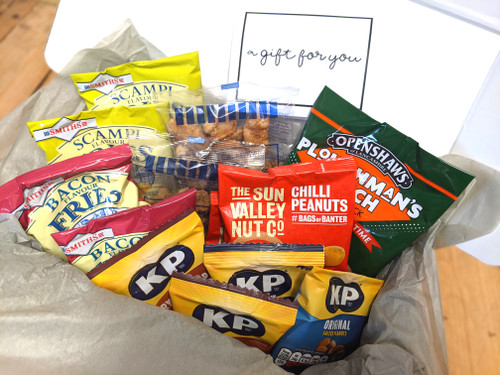 Pub Favourites Gift Box & Message