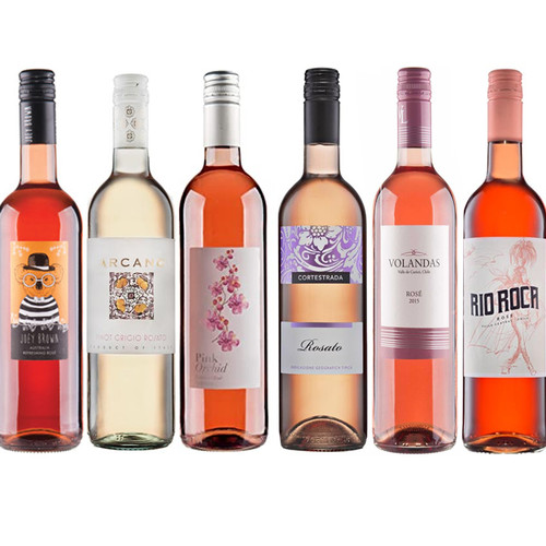 Rose Wine Mixed Wine Case 75cl x 6