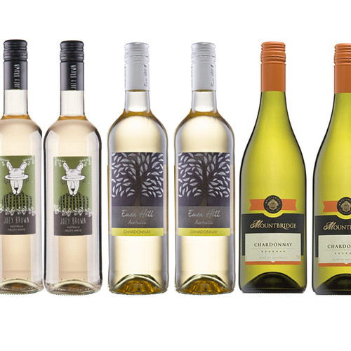 Australian White Wine Mixed Wine Case 75cl x 6