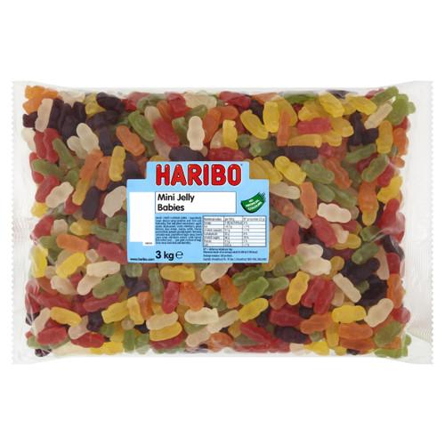 Haribo Mini Jelly Babies 3kg Bag
