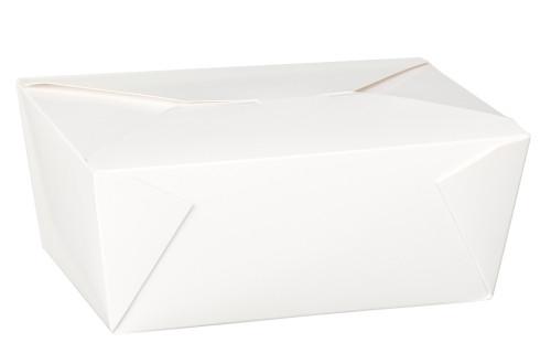 Dispo-pak White No4 Food Container 98oz x 40