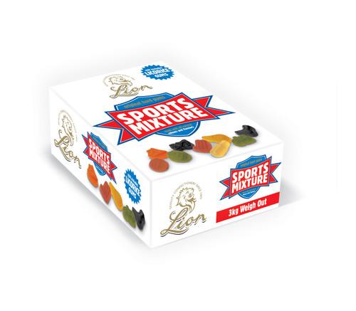 Lion Football Gums Sweets 2kg Box