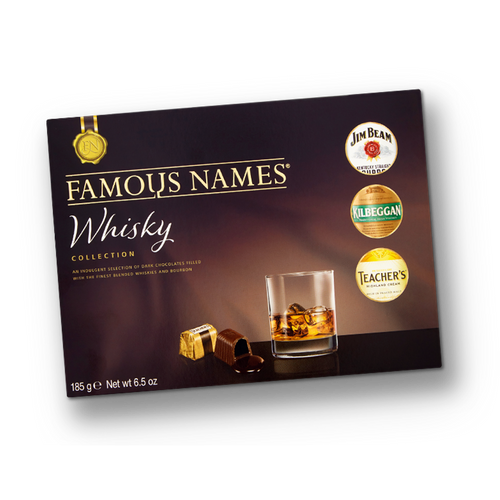 Elizabeth Shaw Famous Names Whiskey Collection 185g