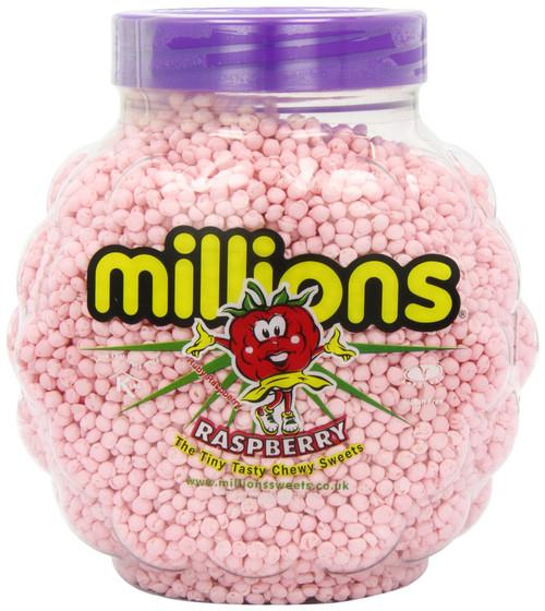Millions Raspberry Jar 2.27kg