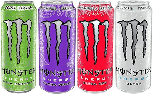 Monster Energy Ultra Mixed Case (Non Price Marked) 500ml x 12