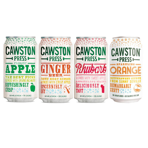 Cawston Press Mixed Case 330ml Cans x 24