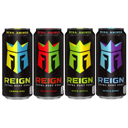 Reign Energy Mixed Case 500ml x 12 (zero sugar)