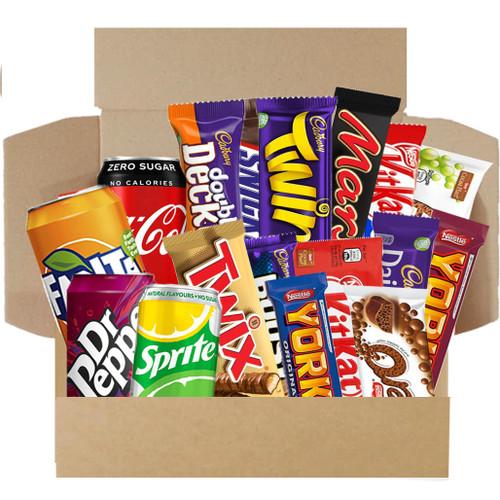 Munchies Sweet Snack Box - Chocolate & Drinks Box