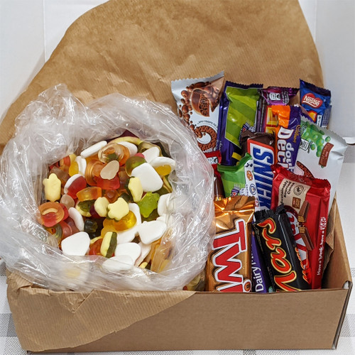 Sweetie Munchie Snack Box - Mixed Haribo & Chocolate Box