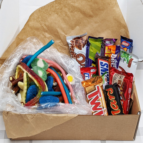 Sweetie Munchie Snack Box - Pick N Mix & Chocolate Box