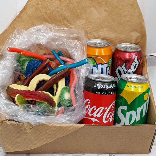 Sweetie Munchie Snack Box - Pick N Mix & Drinks Box