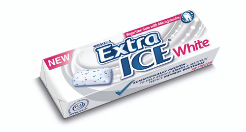 Wrigleys Extra Ice White Chewing Gum 10 pieces x 30