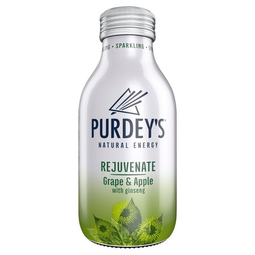 Purdeys Natural Energy - Rejuvenate Grape & Apple 330ml x 12