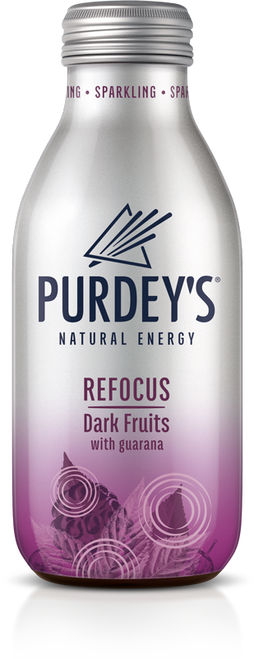 Purdeys Natural Energy - Refocus Dark Fruits 330ml x 12