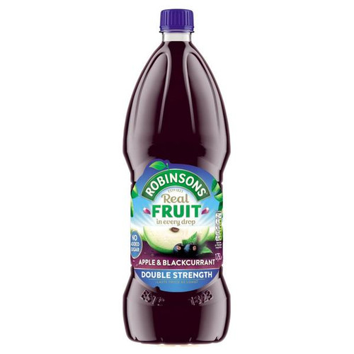Robinson's Cordial Double Strength Apple & Blackcurrant 2 x 1.75ml