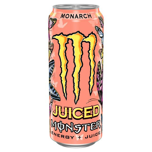 Monster Juiced Monarch (Non Price Marked) Cans 500ml x 12