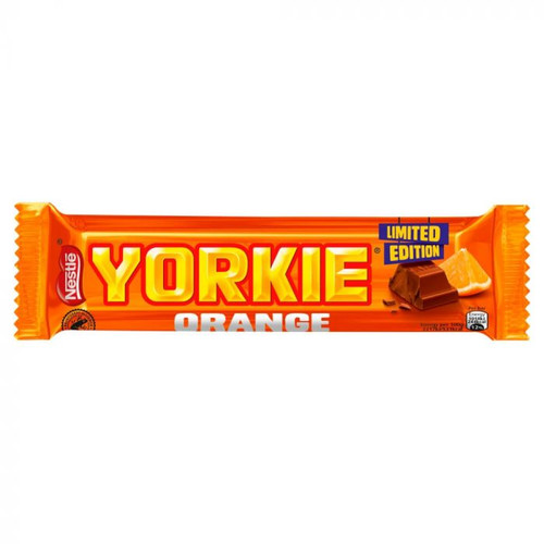 Nestle Yorkie Orange Milk Chocolate Bar 46g x 24