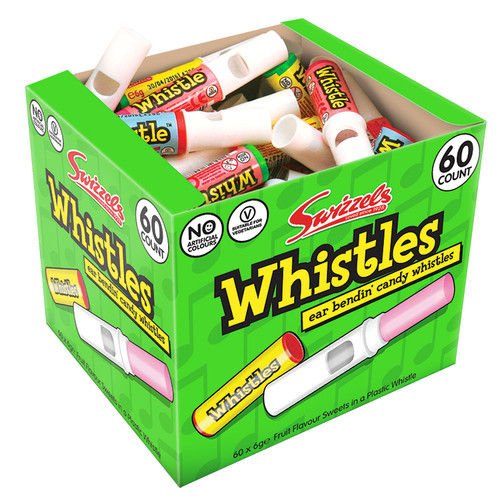 Swizzels Candy Whistles x 60 20p
