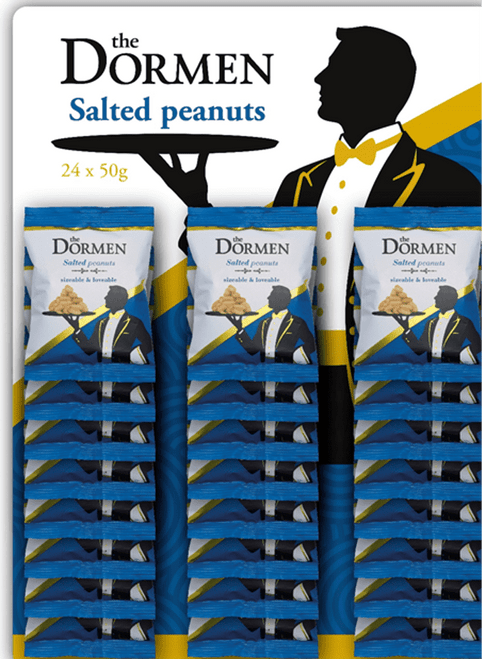 Dormen Salted Peanuts CARDED 24 x 50g