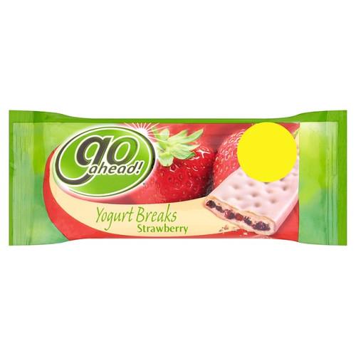 Go Ahead Strawberry Yoghurt Break Cereal Bar 35g x 24