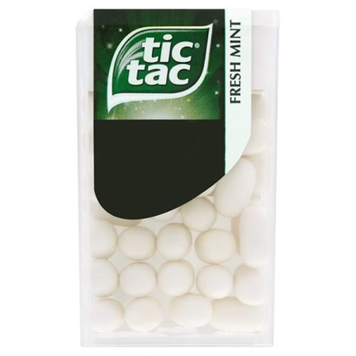 Tic Tac Fresh Mint 18g x 24